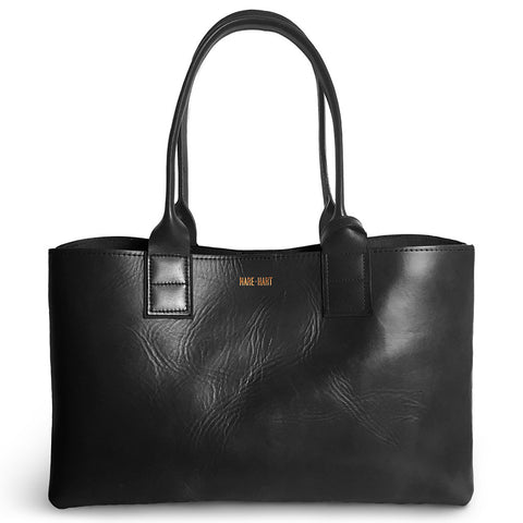 COMMUTER TOTE - BLACK