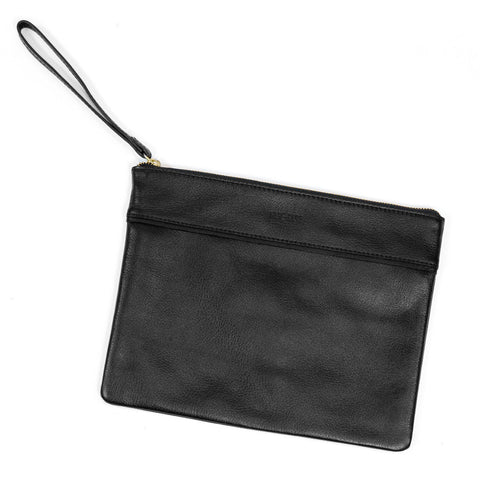 COIN PURSE - BLACK HAIRCALF