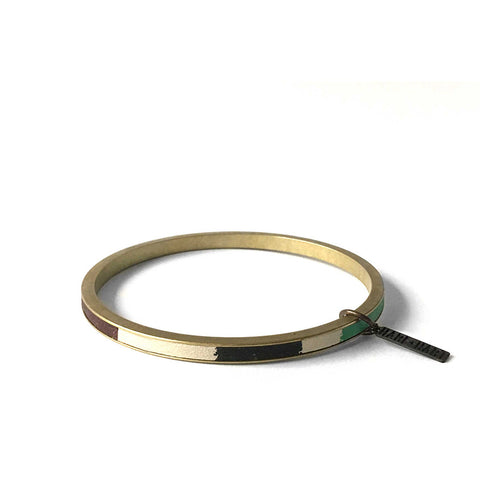 ZERO WASTE BANGLE - CARMEL
