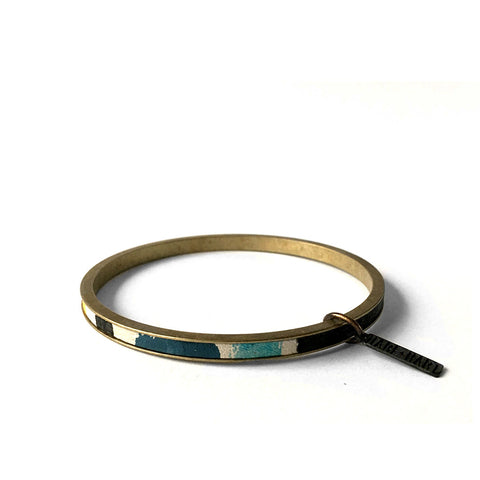 """STRONGER TOGETHER"" ZERO WASTE BANGLE - SET OF 6"
