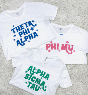 Retro Sorority Tees