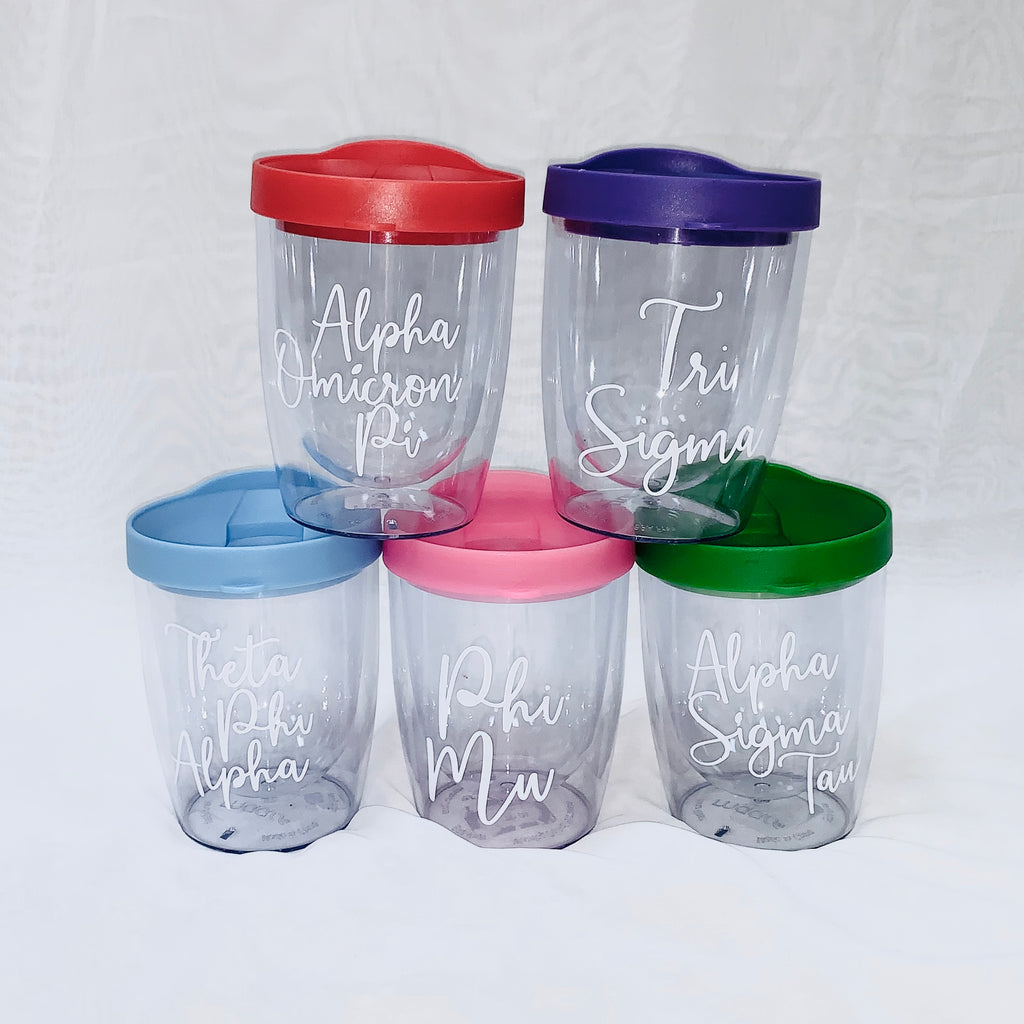 Sorority Short Double-Walled Tumbler