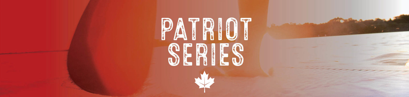 Patriot Coral Sea Inflatable Paddle Board Canada Flag