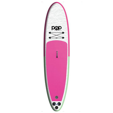 11'0″ Inflatable Paddle Board - Mint & Pink - LiquidWild