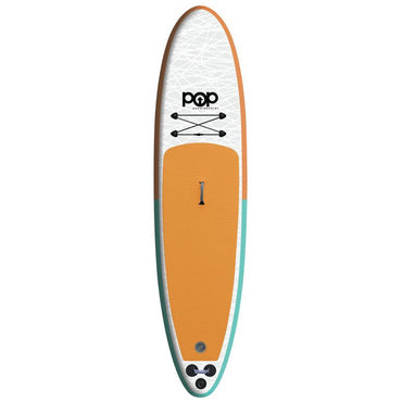 11'0″ Inflatable Paddleboard | Orange & Blue - LiquidWild