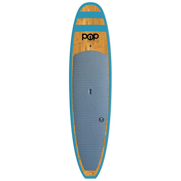 11'0″ Huckleberry Bamboo POP Paddle Board Blue - LiquidWild