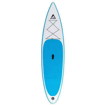 "12'0"" Adventure Paddleboarding Inflatable Paddle Board SUP Blue - LiquidWild"