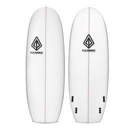 "5'4"" Mini Simmons Paragon Shortboard Surfboard White - LiquidWild"