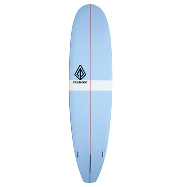 7'8 Mini Log Paragon Longboard Surfboard Baby Blue - LiquidWild
