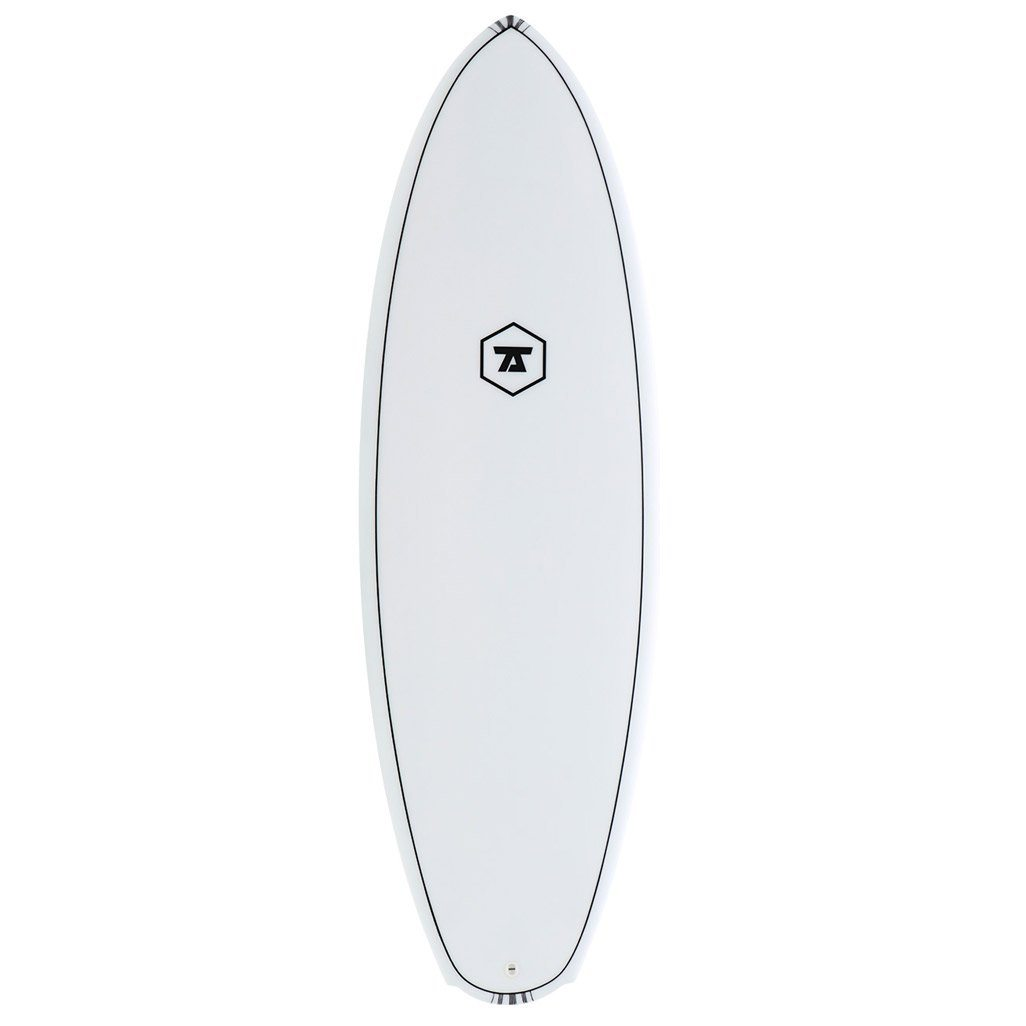 7S Double Down White Surfboard - IM - LiquidWild