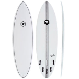 7S Jetstream White Surfboard Performance All-Rounder - LiquidWild