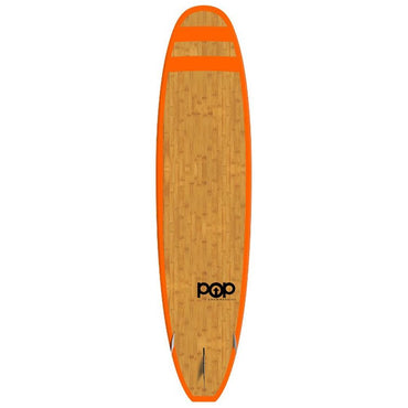 11'0″ Huckleberry Bamboo Orange | POP Paddle Board - LiquidWild