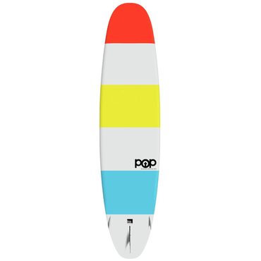 11'6″ Throwback Color Wave POP Paddle Board - LiquidWild