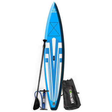 "Coral Sea Vivacity Cruiser SUP Inflatable Paddle Board 12' 6"" - LiquidWild"