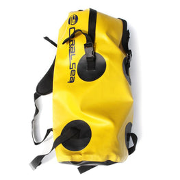 Coral Sea Backpack Dry Bag - Yellow - LiquidWild