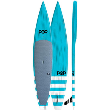 Model Especial 12'6″ Touring POP Paddleboard - Blue - LiquidWild