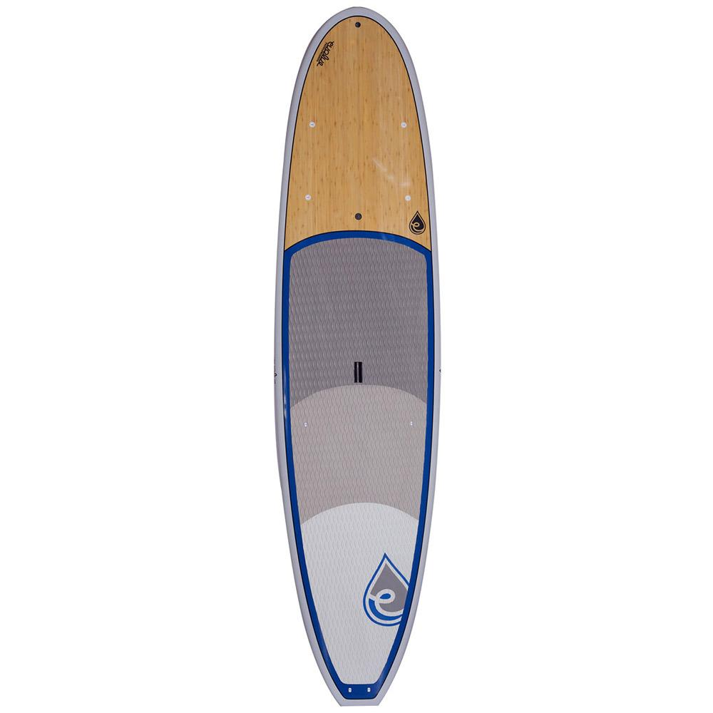 Evolve Big Deal Grey Rail & Blue Stand Up Paddle Board SUP - LiquidWild