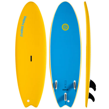 Gnaraloo Beach Cruiser Soft Surfboard Beginner