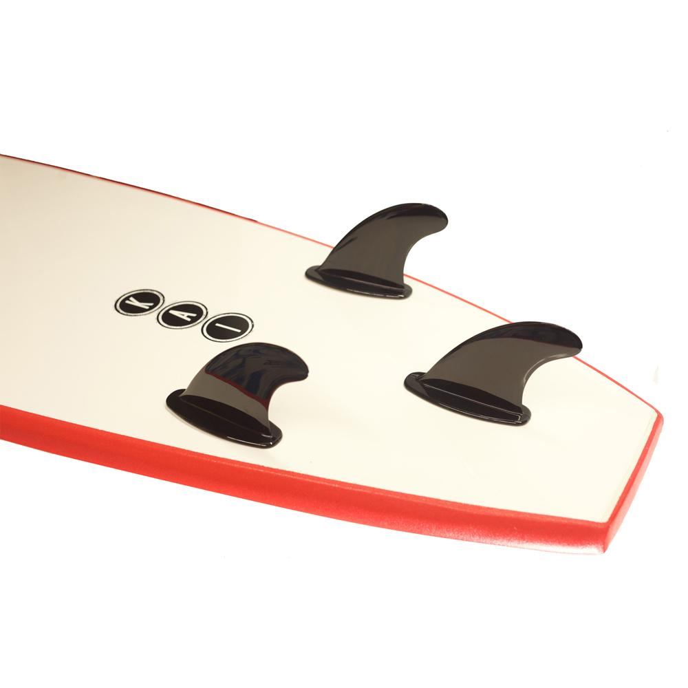 Kai Soft Surfboard New Model 8' Red - LiquidWild