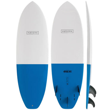 Modern Highline X1 Shortboard Surfboard Blue - LiquidWild
