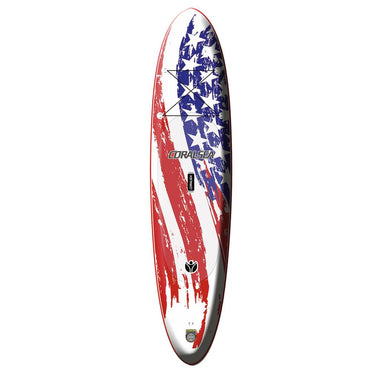 Coral Sea Patriot SUP Inflatable Paddle Board - American Flag 11' - LiquidWild