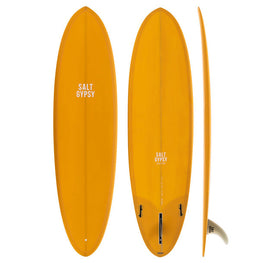 Salt Gypsy Mid Tide Mid-Length Surfboard - PU