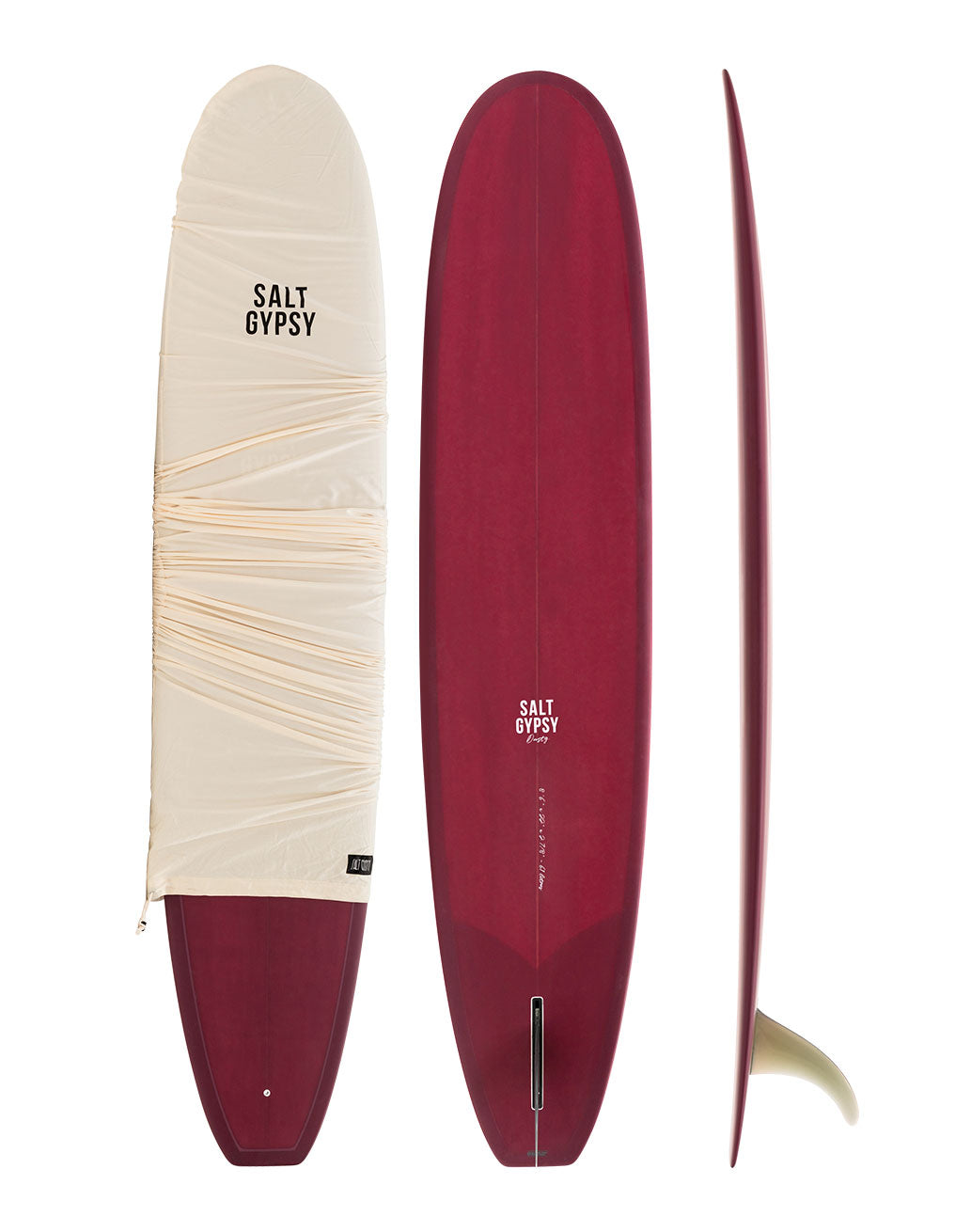 Salt Gypsy Dusty Retro PU Longboard Surfboard