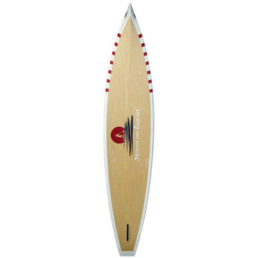 "San Juan 12'6"" Bamboo Paddle Board - Stand on Liquid - LiquidWild"