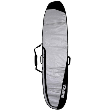 Surfica Longboard Surfboard Storage Bag - Black & Grey - LiquidWild