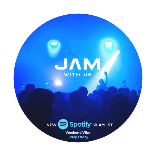 Jam With Us On Spotify