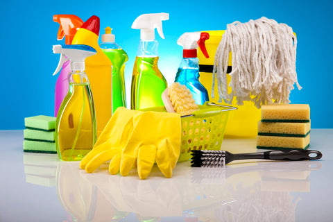 Deep House Cleaning Supplies