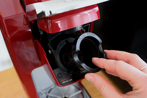 cleaning a keurig