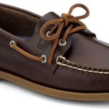 leather sperrys