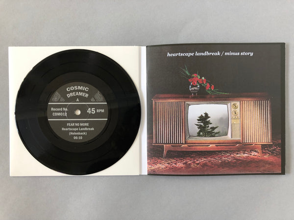 "Heartscape Landbreak / Minus Story Double 7"" and Zine"