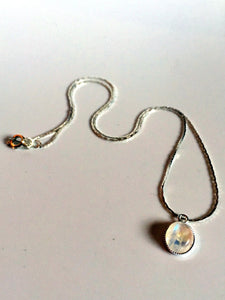 dainty stones/01 moonstone on silver