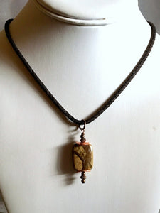 jasper necklace/02 picture jasper