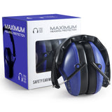 Pro For Sho 34dB NRR Shooting Ear Protection - Lightweight Design - Standard Size Dazzling Blue