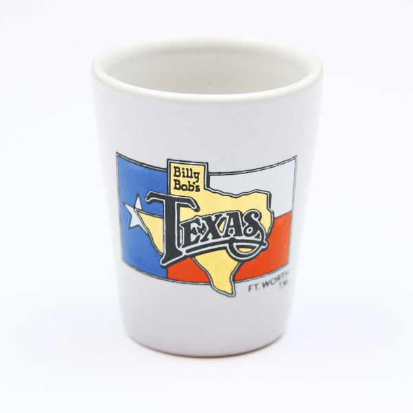 Billy Bob's Texas 4 Color Shot Glass