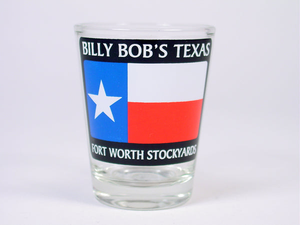 BBT TX Flag Shot Glass