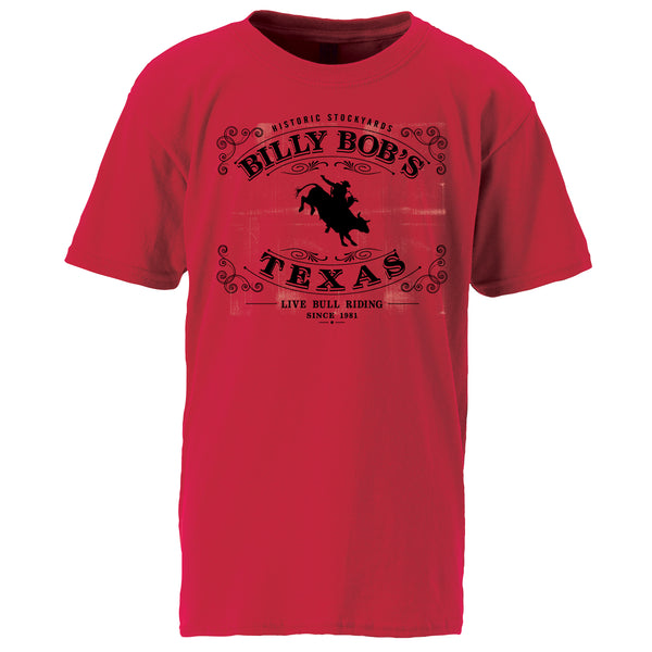 Youth Bull Riding Tee
