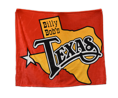 Billy Bob's Texas Logo Blanket