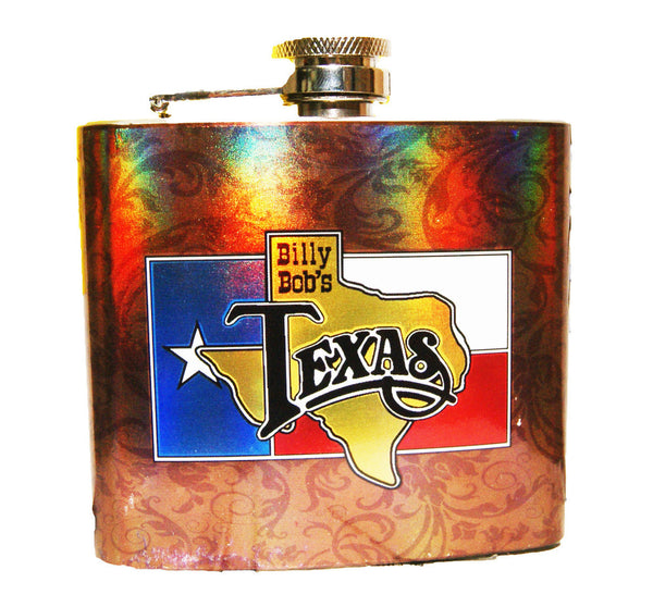 Billy Bob's Texas Color Wrap Flask