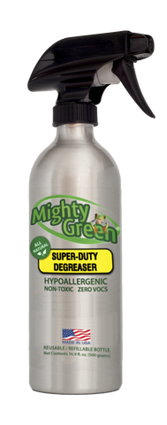 Super-Duty Degreaser with Free Lifetime Refills +S&H