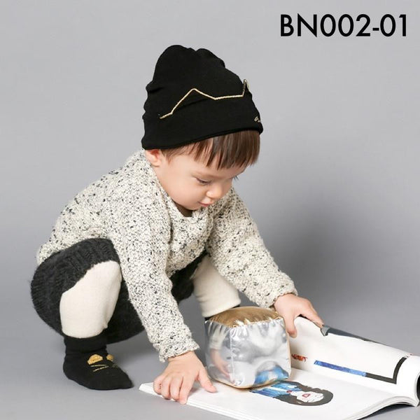 Beanies, BN002 - Shiny Bat Beanie - The Baby Zebra