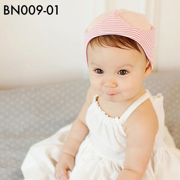 Beanies, BN009 - Star Crown Beanie - The Baby Zebra