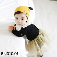 Beanies, BN010 - Happy Mickey Beanie - The Baby Zebra