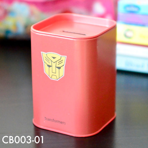 Coin Boxes, CB003 - Transformer Coin Box - The Baby Zebra