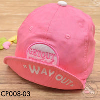 Caps, CP008 - Get Out Way Out Cap - The Baby Zebra