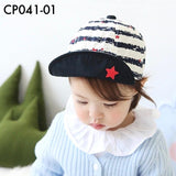Caps, CP041 - Milky Star Cap - The Baby Zebra