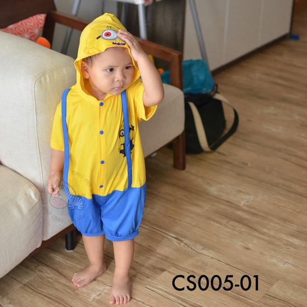 Costumes, CS005 - Minion Costume - The Baby Zebra